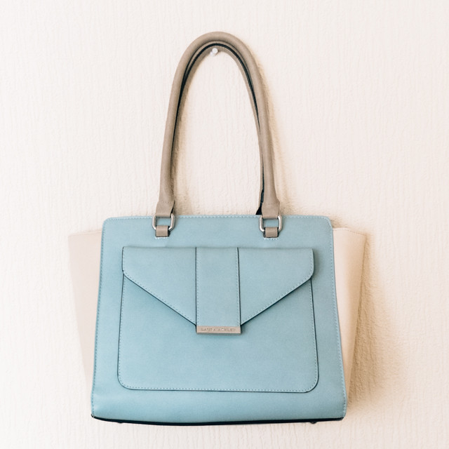pastel blue laura ashley bag
