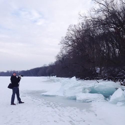 Ice in Lake Mendota