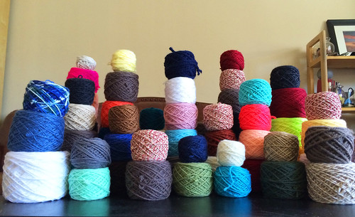 yarn collection after