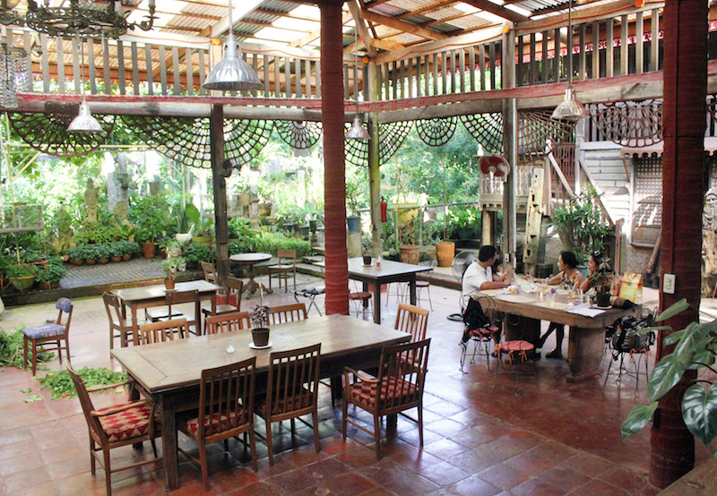 Patis Tito Garden Cafe dining area2