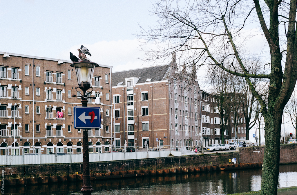 Amsterdam, Zeeheldenbuurt / Houtmankade