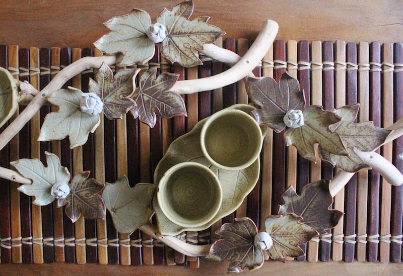 Ugu Bigyan Potter's Garden ceramic cups