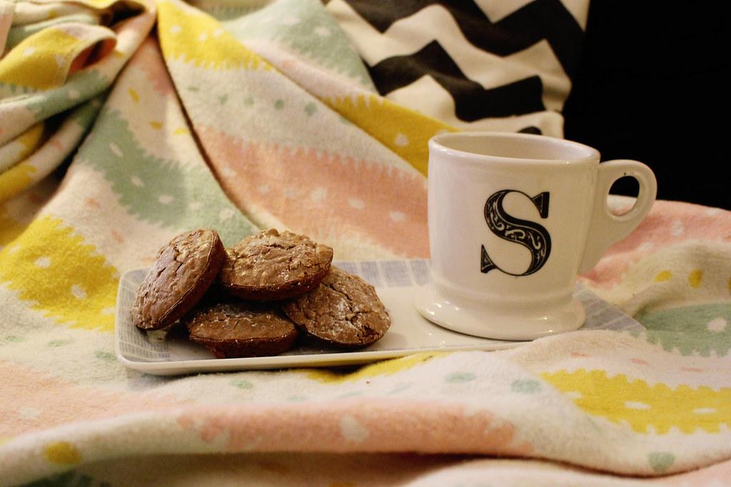 zwergenprinzessin bäckt: walnuss cookies