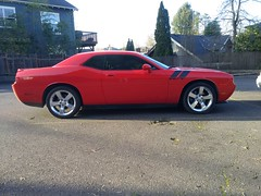 Dodge Challenger R/T Classic. 5.7L HEMI. Candy Apple Red.