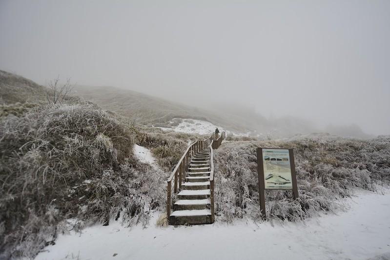 合歡山東峰登山步道口