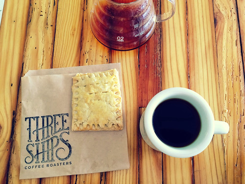 Three Ships Coffee with Nutella Poptart (May 15 2015)