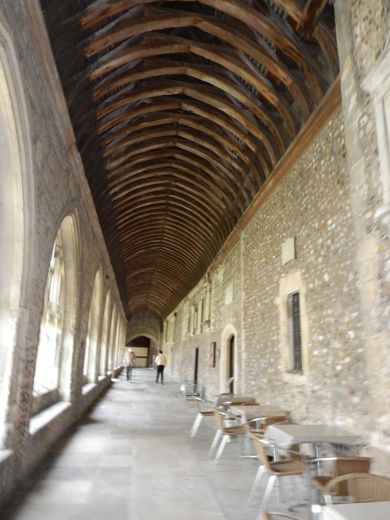 Cathedral cloisters Southbourne to Chichester