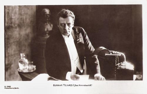 Gunnar Tolnaes in Himmelskibet (1918)