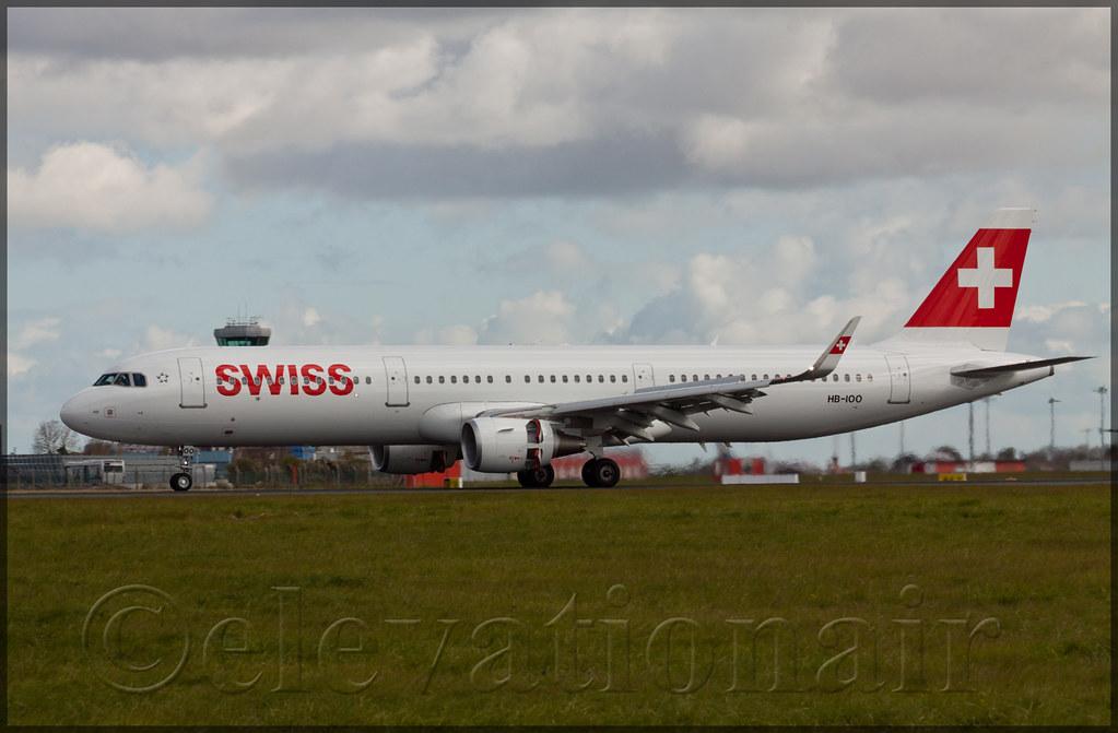 HB-IOO - A321 - Swiss