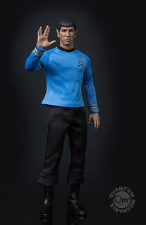 Quantum Mechanix - 《星際爭霸戰》系列:1/6比例 史巴克 Star Trek TOS Spock