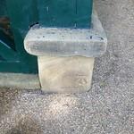 Cut Mark: Preston, Avenham Park Shelter
