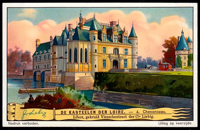 Liebig Tradecard S1272 - Château de Chenonceau