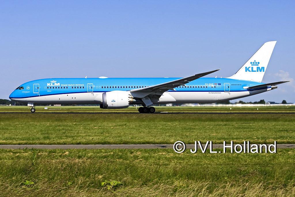 PH-BHF - B789 - KLM