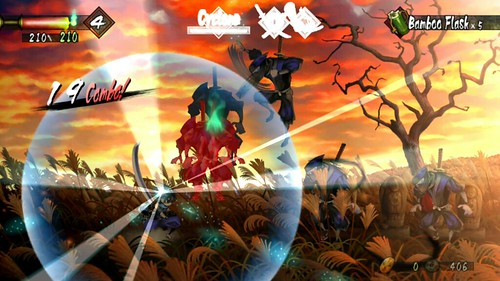 Muramasa Rebirth on PS Vita