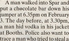 Spar chocolate theft : Chocolate Crime Epidemic :  © World Exclusive The Lancashire Evening Post - Our Lawyers are watching !!