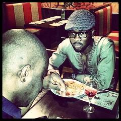 Femi! Bless you bro, thanks for the support #BooOfLife #Birthday #Dinner