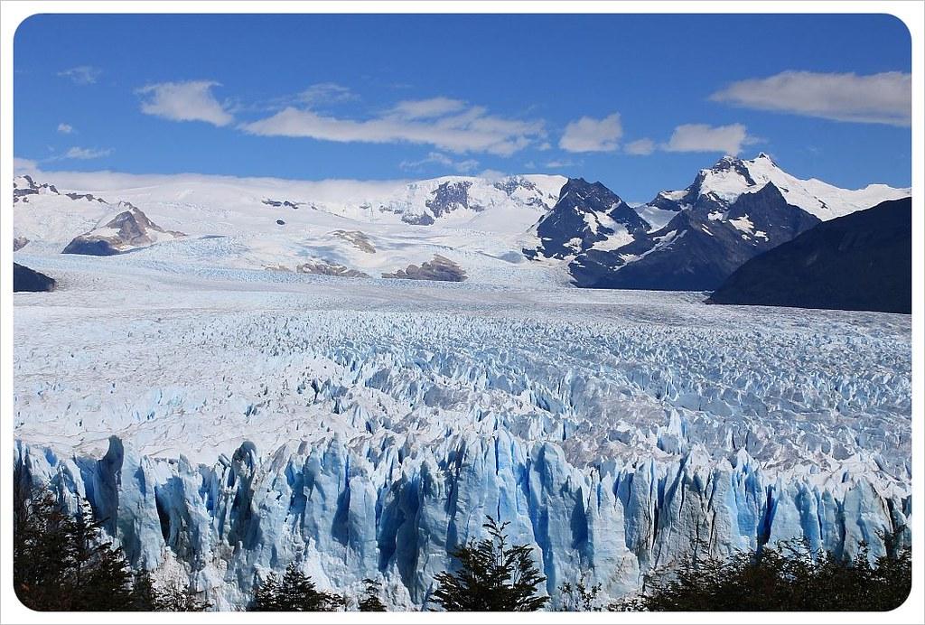 full view of perito moreno glacier patagonia argentina