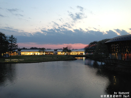 夕陽下的輕井沢Shopping Mall(1)