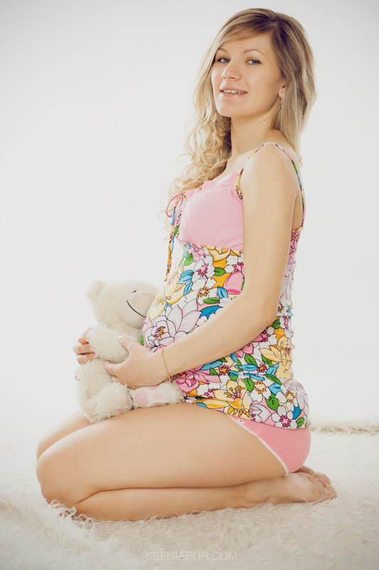 Фотосессия беременности в студии, фотосъемка беременных, в ожидании чуда