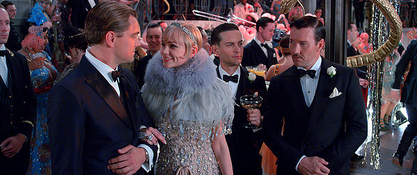 Leonardo DiCaprio, Carey Mulligan, Tobey Maguire and Joel Edgerton make pop superficiality of THE GREAT GATSBY.