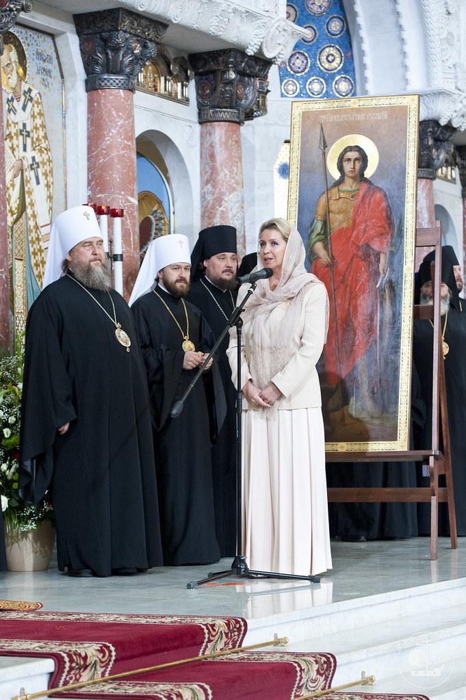 28 мая 2013, Великое освящение Кронштадтского Морского собора