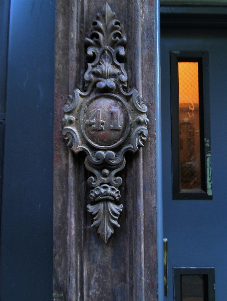 41 door  East Village and 2nd Avenue, Manhattan