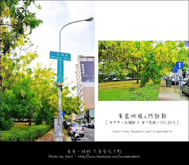 [台中西區]阿勃勒–五權路 x 梅川東路一段