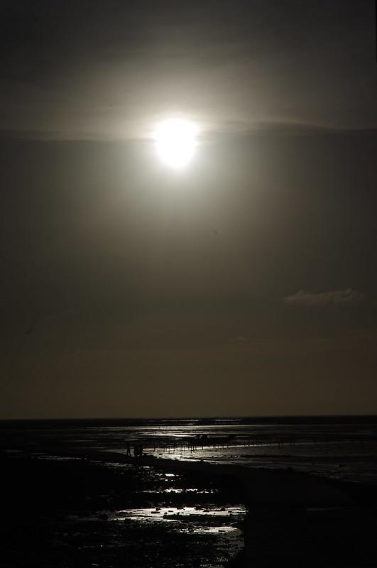 黃昏的風景