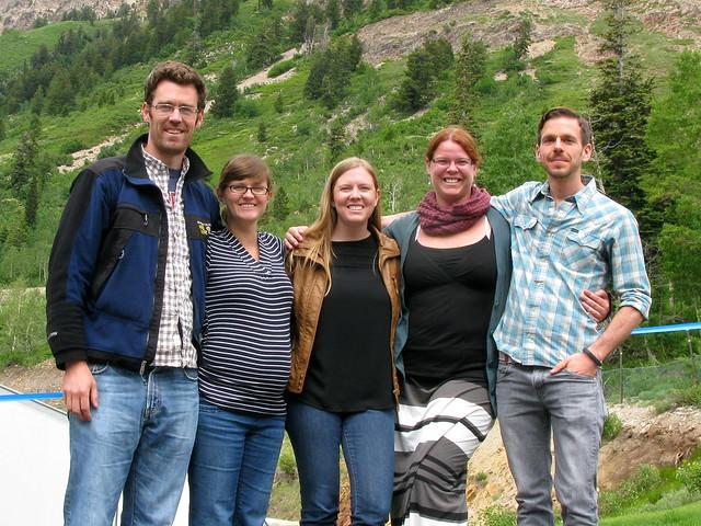 2013.06.25 - Noah, Sarah, Amy, CJ, me