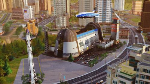 《模擬城市》飛船組合