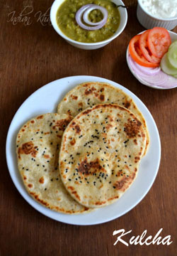 Kulcha Recipe | Indian Bread Recipes