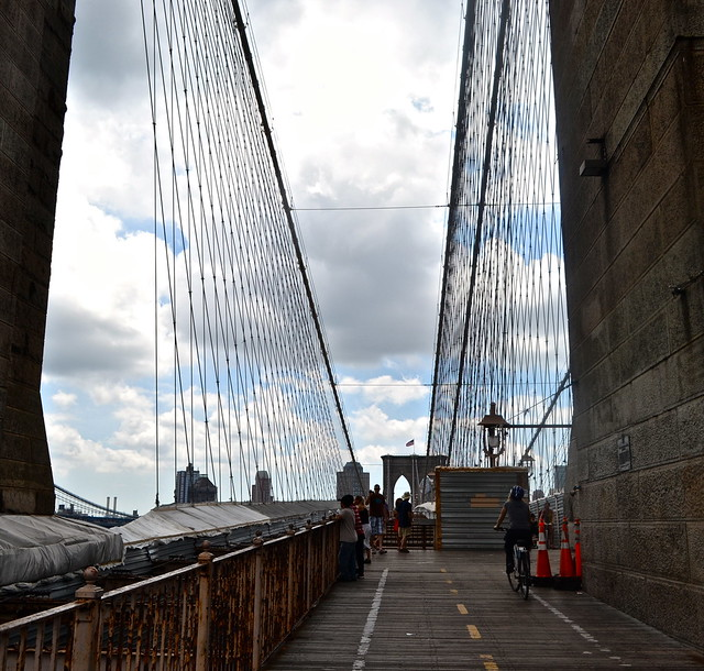 facts about brooklyn bridge - longest suspension bridge in the US