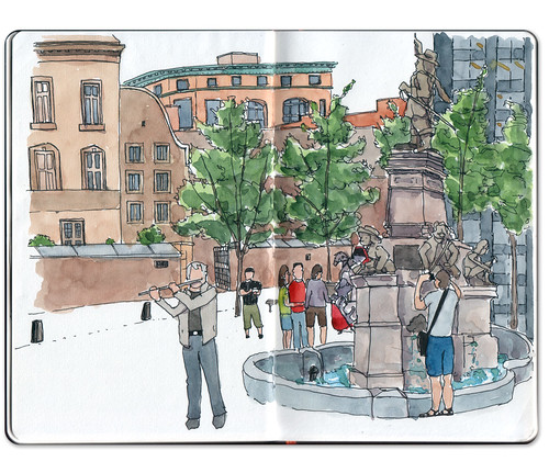 Place d'Armes by Jennifer Appel
