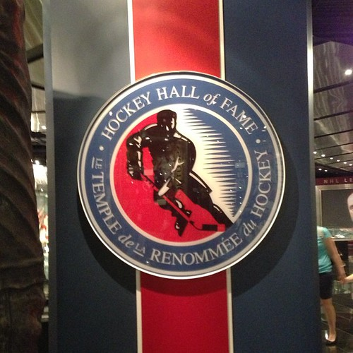220:365 Had just enough time to squeeze in a quick stop at the Hockey Hall of Fame today. #toronto #hockey #latergram