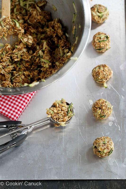 No-Bake Zucchini Bread Granola Bites Recipe {Gluten-Free & Vegan ...