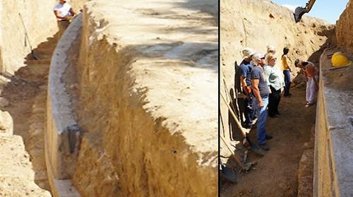 Πολυτελής αρχαίος τάφος βρέθηκε στις Σέρρες- Iσως είναι του Μεγάλου Αλεξάνδρου
