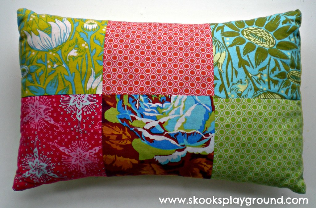 Patchwork Pillow B
