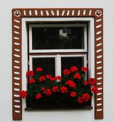 South Bohemian Folk window