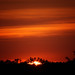 Sunset August 25 2013 from Raptor Ridge by Jim Crotty 2
