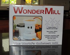 Grinding Wheat with the Incredible WonderMill   Backdoor Survival