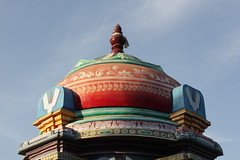 temple, landmark, place of worship, stupa, dome,
