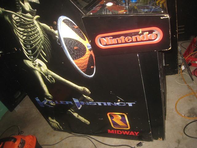 killer instinct arcade machine for sale