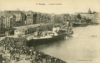 Dieppe, la gare maritime