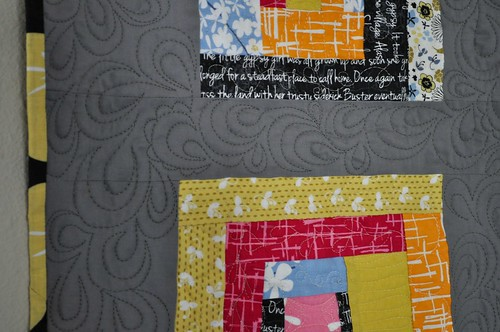 madrona quilting close up