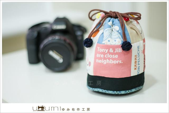 黑白兔鏡頭袋1