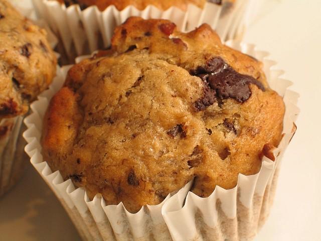 Muffin Bimby con Gocce di Cioccolato
