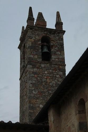 Monteriggioni: campanile