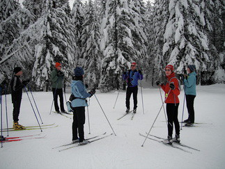 XC Ski Camp at Sun Mountain Lodge