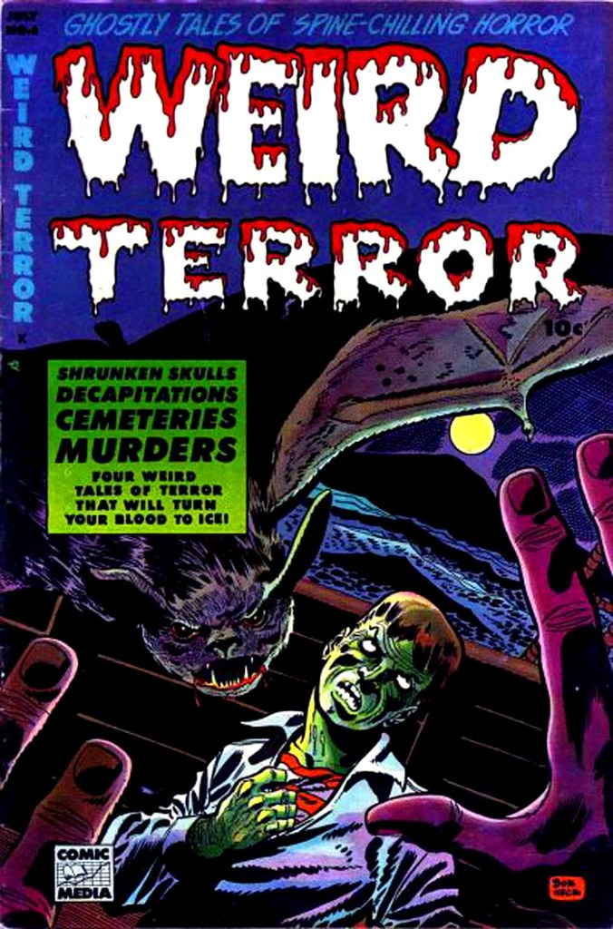 Weird Terror 6 Comic Media 1953