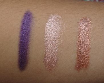 Purple Velvet, Sparkle Nude, Sparkle Leopard